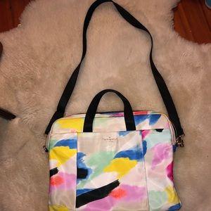 Kate space laptop shoulder bag